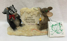 Charming Tails Figurines You've Melted My Heart First Christmas Together 87472