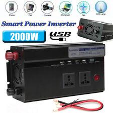2000-4000W Peak Converter 12V DC to 110V AC power Inverter for RV/Truck/Car/Home