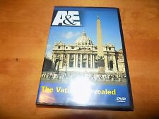 THE VATICAN REVEALED A&E Holy City Sistine Chapel Pope St. Peter's RARE DVD NEW