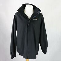 Mens REGATTA Waterproof Windbreaker Jacket Size LARGE Lightweight Short Coat
