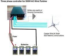 Controller generatore eolico 600w 12V 24V regolatore di carica alternatore freno