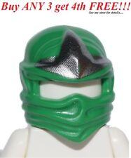 ☀️NEW Lego Ninjago Ninja Green HEAD WRAP ZX Lloyd Minifig Headwrap Hood Hat Gear