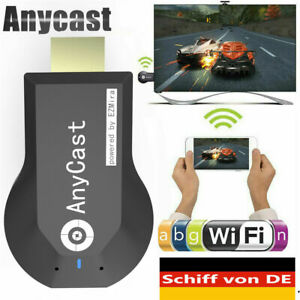 AnyCast Wireless WiFi Display Dongle HD 1080P Adapter HDMI Drahtlos Empfänger