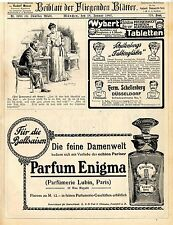 Parfümerie Lublin Paris Enigma Gabriel Sedlmayr München Brauerei zum Spaten 1907