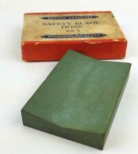 Vintage NORTON ABRASIVES Safety Blade Hone Concave
