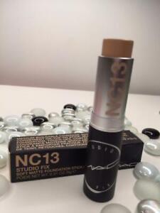 MAC Studio Fix Soft Matte Foundation Stick NC13 .31oz Full Size - NEW in Box!