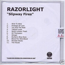 RAZORLIGHT Slipway Fires UK numbered + sealed promo test CD