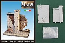 WARS Base con muro / Base with wall kit scala 1/35 - 54 mm