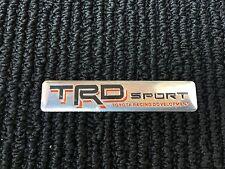 NEW TOYOTA TRD RACING SPORT TRUNK TAILGATE I FENDER EMBLEM LOGO BADGE DECAL #5