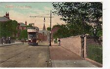 OSMASTON ROAD, DERBY: Derbyshire postcard (C7875)