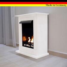Ethanol Firegel Fireplace Cheminee Camino Madrid Premium White + 21 piece set