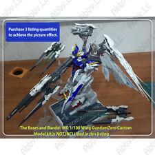 Drei Zwerg Buster Doppelt for MG 1/100 XXXG-00W0 Wing Gundam Zero Custom EW HiRM