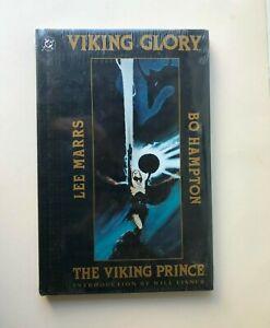 DC Viking Prince Viking Glory Graphic Novel Bo Hampton STILL SEALED