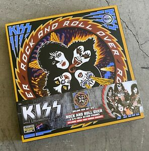 """BBP29140: KISS Rock & Roll Over 3.75"""" Action Figure Deluxe Box Set - SDCC LE1000"""