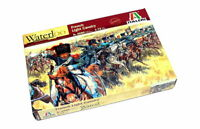 Italeri Napoleonic Wars French Lgt Cav 1/72 Figures Kit - 6080