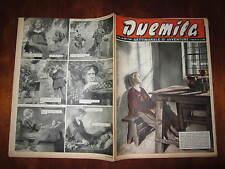"""FOTOROMANZO """"DUEMILA"""" SETTIMANALE DI AVVENTURE NUMERO 38 DEL 23 SETTEMBRE 1951"""
