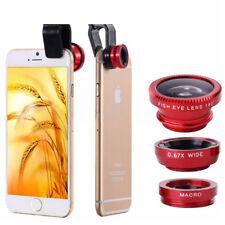 Smartphone 3 Kit Obbiettivi per in 1 Inclusi 0.67x largo + Macro + Fisheye Lentg
