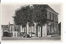 Nederland Noord  Holland Het Wapen van Medemblik Hotel Restaurant old RPPC Car