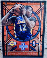 Dwight Howard 2012-13 Panini Innovation Stained Glass #2 Los Angeles Lakers