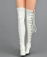 1/6 Women Over The Knee High Heel Boots For Phicen Hot Toys Kumik
