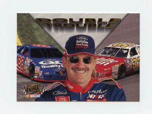 Dale Jarrett 1997 97 Fleer Ultra Update Double Trouble Insert Card DT6