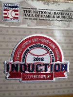 Hall of Fame Induction Patch 2018 Guerrero/Hoffman/Jones/Morris/Thome/Trammell
