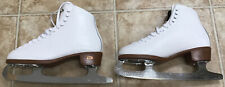 Riedell 117 Ladies Figure Skates Size 6.5 Wide - Great Condition