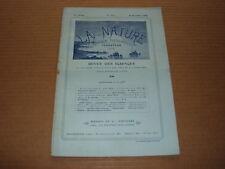 *** La Nature n° 1753 (29/12/1906) - Mise à l'eau navires géants / Métro Chicago