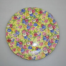 Vintage Royal Winton Grimwades Chintz Luncheon Plate Sweet Pea