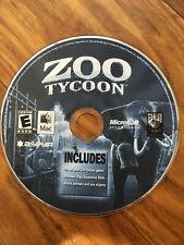 Zoo Tycoon  - Mac - Video Game 2003 FREE SHIPPING