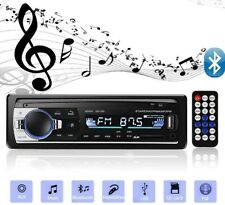 1 Din Car Radio Stereo MP3 Player USB SD AUX-IN Remote Control Bluetooth Audio
