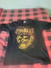 Marduk logo bloody skull T- Shirt size Large Black Metal Dark Funeral