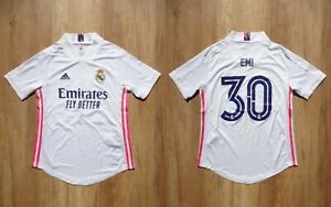 REAL MADRID 2020/2021 Women Adidas shirt jersey Size XS ADULT soccer  #30