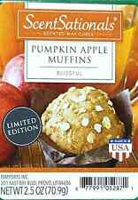 ScentSationals,Pumpkin Apple Muffins Fragrance Cubes, Scented Wax $5.79 FREE S/H
