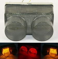 Tail Brake Turn Signals Integrated Led Light Smoke Fit 1998-1999 YAMAHA YZF R1