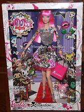 Barbie collector black label 10th anniversaire tokidoki barbie doll