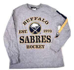 My NHL Youth Boys Buffalo Sabres Hockey Shirt New XS (4-5)