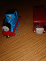 Thomas The Train 2002 Metal Bertie And Thomas Lot 2