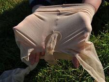 Men sexy underwear ultrathin transparent erotic stockings elastic leggings caffè