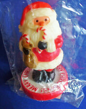 Hallmark Merry Miniatures Christmas Mip Santa Candy Canes Vintage Mini Figurine