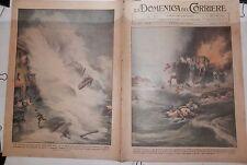Incendio laguna veneta Scritta DUX su Vesuvio Riviera di Levante Recco e Camogli