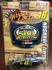 2008 Jimmie Johnson Lowes Daytona 500 car 1:64 scale WC Winners Circle
