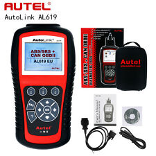 Autel Autolink AL619 OBD2 CAN SRS ABS AirBag Auto Diagnostic Scanner Code Reader