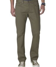 Dockers Classic 5-Pocket Olive Green Straight Fit D2 Pants 38 x 34 MSRP $64 NEW!