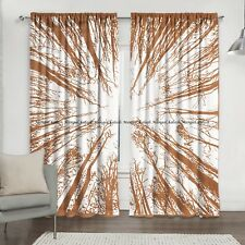 Indian Forest Tree Mandala Cotton Drape Hanging Curtain Home Garden Window Cover