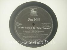 """Dru Hill, ft.Redman How Deep Is Your Love Promo (VG) 12"""""""