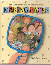 Nick Butterworth - Making Faces - 1st Ed 1993 - SIGNED BY AUTHOR
