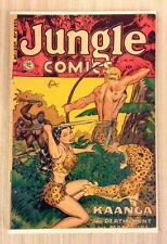 JUNGLE COMICS #141-SPICY ART-GOLDEN AGE  VERY GOOD  CONDITION