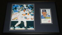 Don Mattingly Signed Framed 12x18 Photo Display Dodgers Yankees