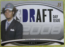 2008-09 BOWMAN DRAFT DAY ISSUE RELIC ROBIN LOPEZ 61/399